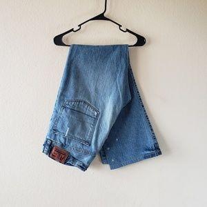 "Men's Ralph Lauren ""Townshend"" Distresses Jeans"